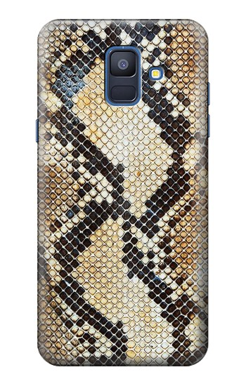 Printed Snake Skin Texture Samsung Galaxy A6 (2018) Case