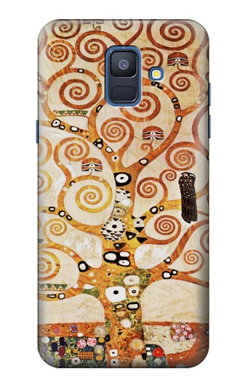 Printed The Tree of Life Gustav Klimt Samsung Galaxy A6 (2018) Case