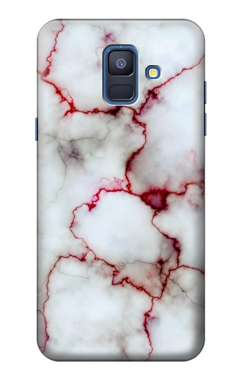 Printed Bloody Marble Samsung Galaxy A6 (2018) Case