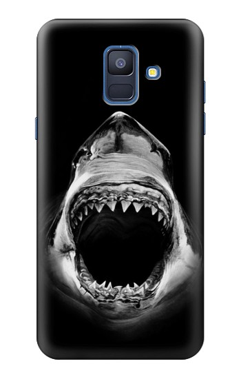 Printed Great White Shark Samsung Galaxy A6 (2018) Case