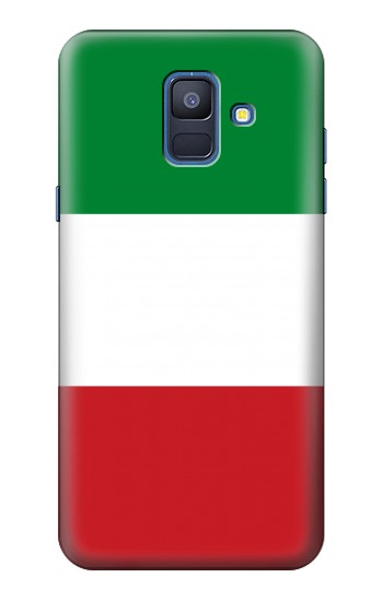 Printed Flag of Italy and Mexico Samsung Galaxy A6 (2018) Case