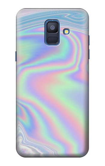 Printed Pastel Holographic Photo Printed Samsung Galaxy A6 (2018) Case