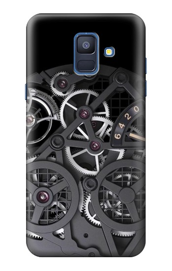 Printed Inside Watch Black Samsung Galaxy A6 (2018) Case