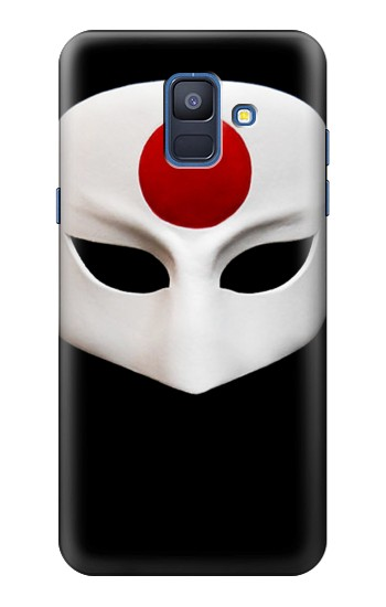Printed Japan Katana Mask Samsung Galaxy A6 (2018) Case