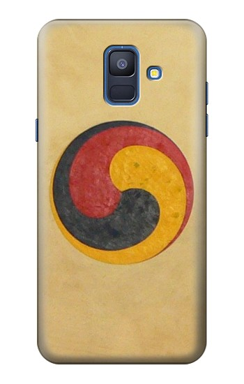 Printed Korean Traditional Drum Samsung Galaxy A6 (2018) Case