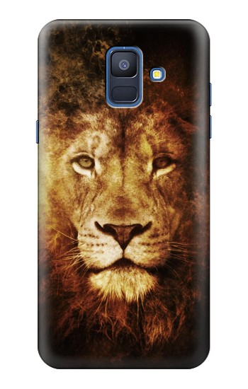 Printed Lion Samsung Galaxy A6 (2018) Case