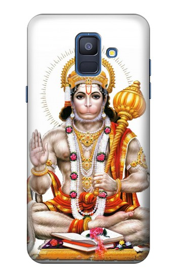 Printed Lord Hanuman Chalisa Hindi Hindu Samsung Galaxy A6 (2018) Case