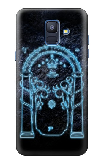 Printed Lord of The Rings Mines of Moria Gate Samsung Galaxy A6 (2018) Case