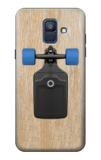 Printed Skateboard Samsung Galaxy A6 (2018) Case