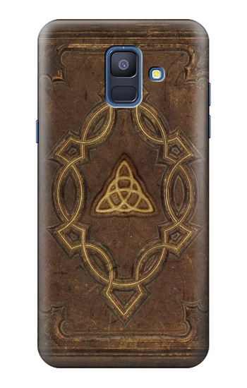 Printed Spell Book Cover Samsung Galaxy A6 (2018) Case