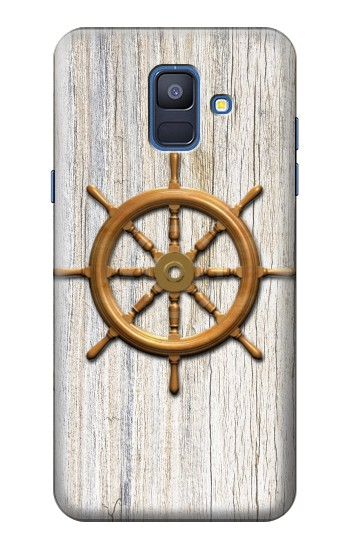 Printed Steering Wheel Ship Samsung Galaxy A6 (2018) Case