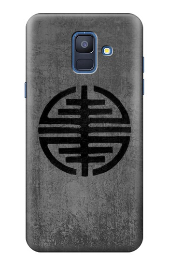 Printed Symbol of Freedom Samsung Galaxy A6 (2018) Case