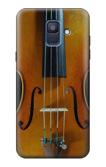 Printed Violin Samsung Galaxy A6 (2018) Case