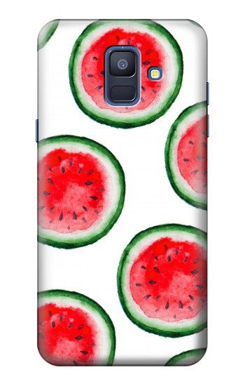 Printed Watermelon Pattern Samsung Galaxy A6 (2018) Case