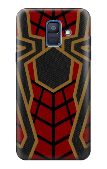 Printed Spiderman Inspired Costume Samsung Galaxy A6 (2018) Case