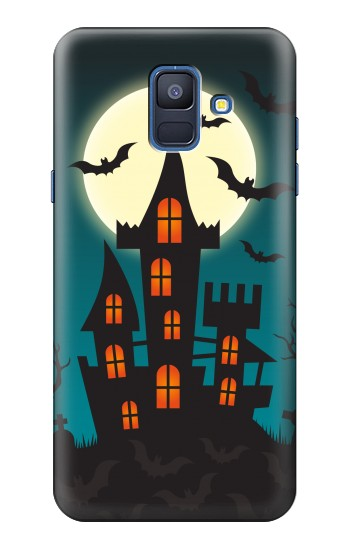 Printed Halloween Festival Castle Samsung Galaxy A6 (2018) Case