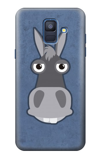 Printed Donkey Cartoon Samsung Galaxy A6 (2018) Case