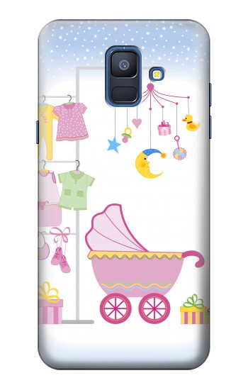 Printed Baby Supplies Samsung Galaxy A6 (2018) Case