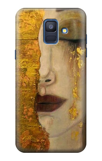 Printed Gustav Klimt Golden Tears Samsung Galaxy A6 (2018) Case
