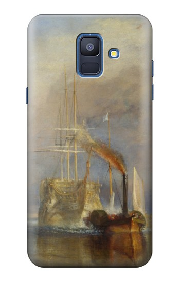 Printed Joseph Mallord William Turner The Fighting Temeraire Samsung Galaxy A6 (2018) Case