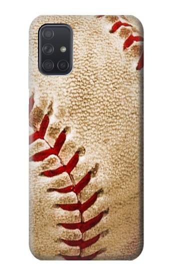 Printed Baseball Samsung Galaxy A71 Case