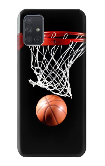 Printed Basketball Samsung Galaxy A71 Case