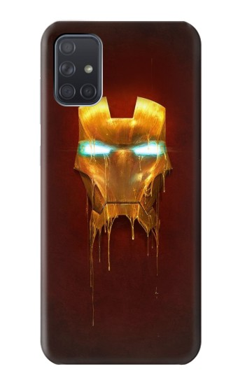 Printed Ironman Mask Samsung Galaxy A71 Case