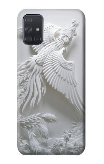 Printed Phoenix Carving Samsung Galaxy A71 Case