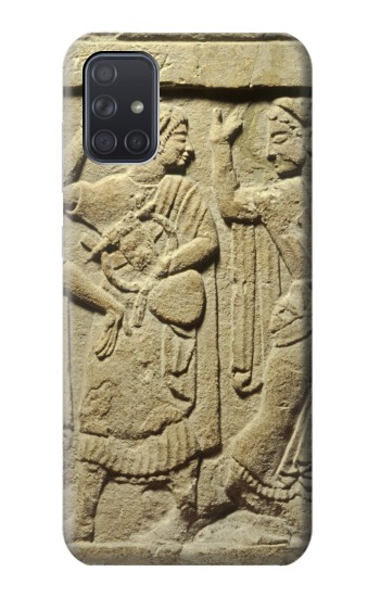 Printed Roman Art Samsung Galaxy A71 Case