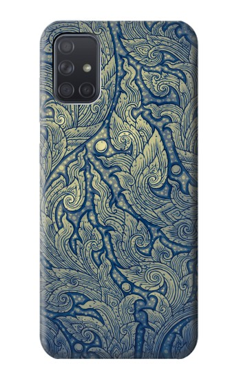 Printed Thai Art Samsung Galaxy A71 Case