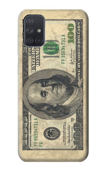 Printed Money Dollars Samsung Galaxy A71 Case