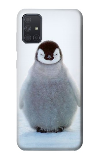 Printed Penguin Ice Samsung Galaxy A71 Case