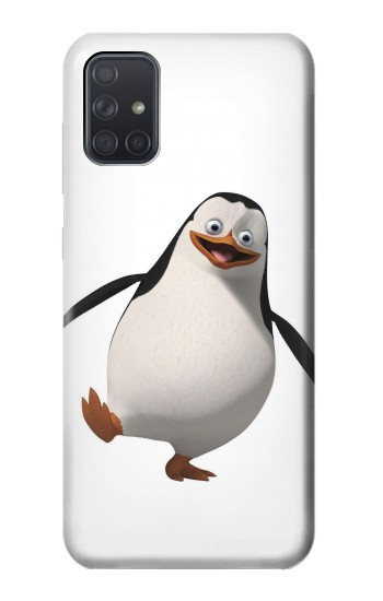 Printed Penguin Samsung Galaxy A71 Case