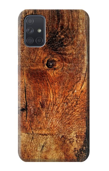 Printed Wood Skin Graphic Samsung Galaxy A71 Case