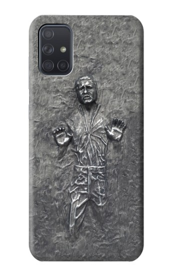 Printed Han Solo in Carbonite Samsung Galaxy A71 Case