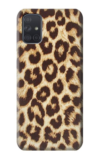 Printed Leopard Pattern Graphic Printed Samsung Galaxy A71 Case