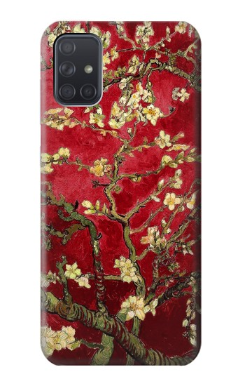 Printed Red Blossoming Almond Tree Van Gogh Samsung Galaxy A71 Case