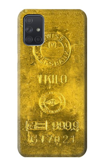 Printed One Kilo Gold Bar Samsung Galaxy A71 Case
