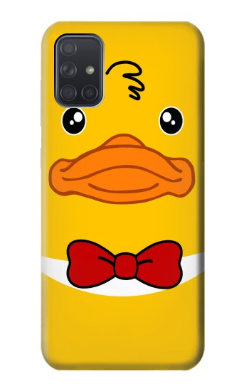 Printed Yellow Duck Samsung Galaxy A71 Case