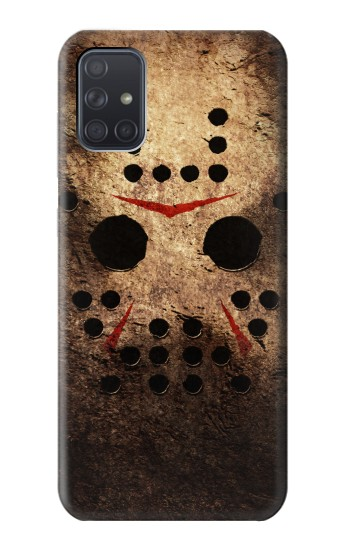 Printed Jason Hockey Mask Samsung Galaxy A71 Case