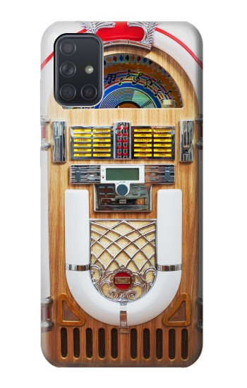 Printed Jukebox Music Playing Device Samsung Galaxy A71 Case