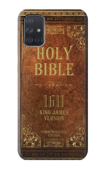 Printed Holy Bible 1611 King James Version Samsung Galaxy A71 Case