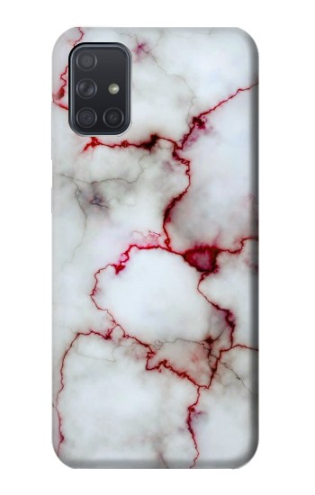 Printed Bloody Marble Samsung Galaxy A71 Case