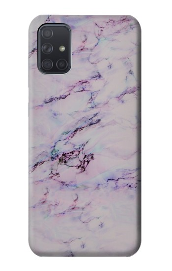 Printed Seamless Pink Marble Samsung Galaxy A71 Case