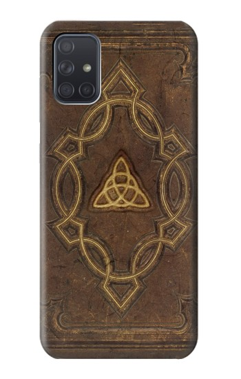 Printed Spell Book Cover Samsung Galaxy A71 Case