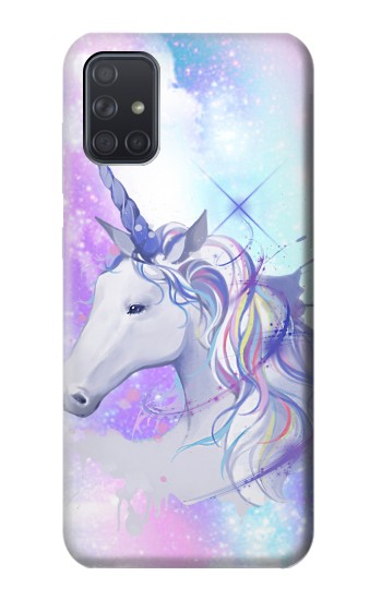 Printed Unicorn Samsung Galaxy A71 Case
