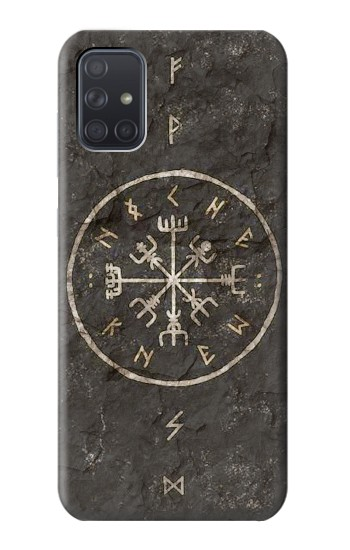 Printed Norse Ancient Viking Symbol Samsung Galaxy A71 Case