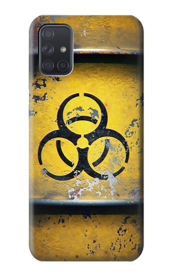 Printed Biological Hazard Tank Graphic Samsung Galaxy A71 Case