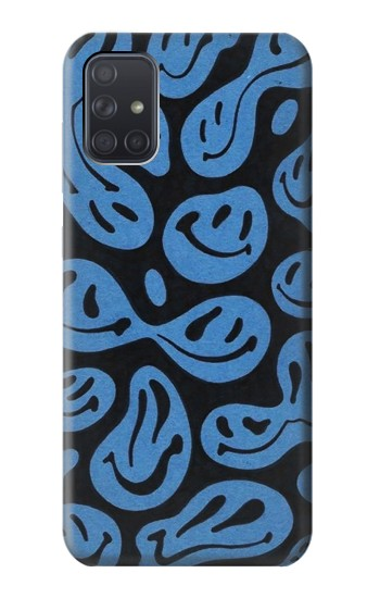 Printed Cute Ghost Pattern Samsung Galaxy A71 Case
