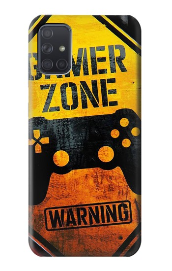 Printed Gamer Zone Samsung Galaxy A71 Case